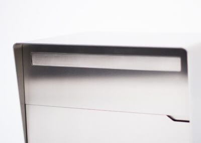Design Briefkasten (Chromstahl / Edelstahl)