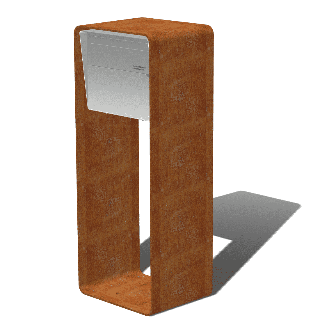 Design Briefkasten Bellus X Level Briefkasten