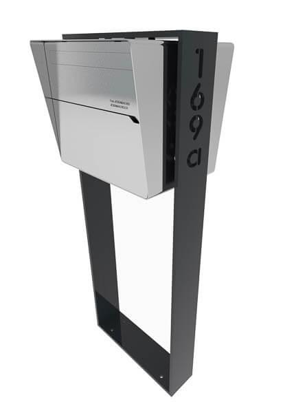 Der Individuelle Design Briefkasten X Level Briefkasten
