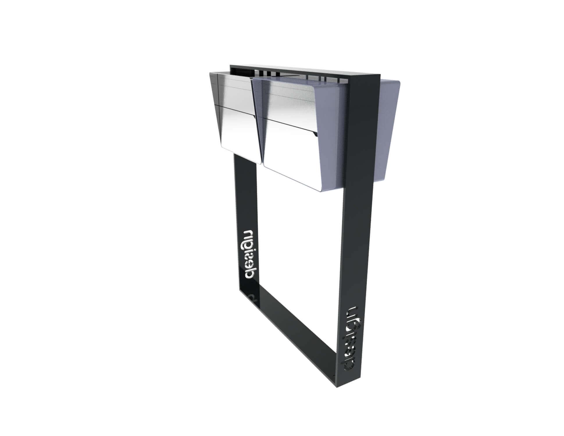 Design Briefkastenanlage Brevis 2er Horizontal