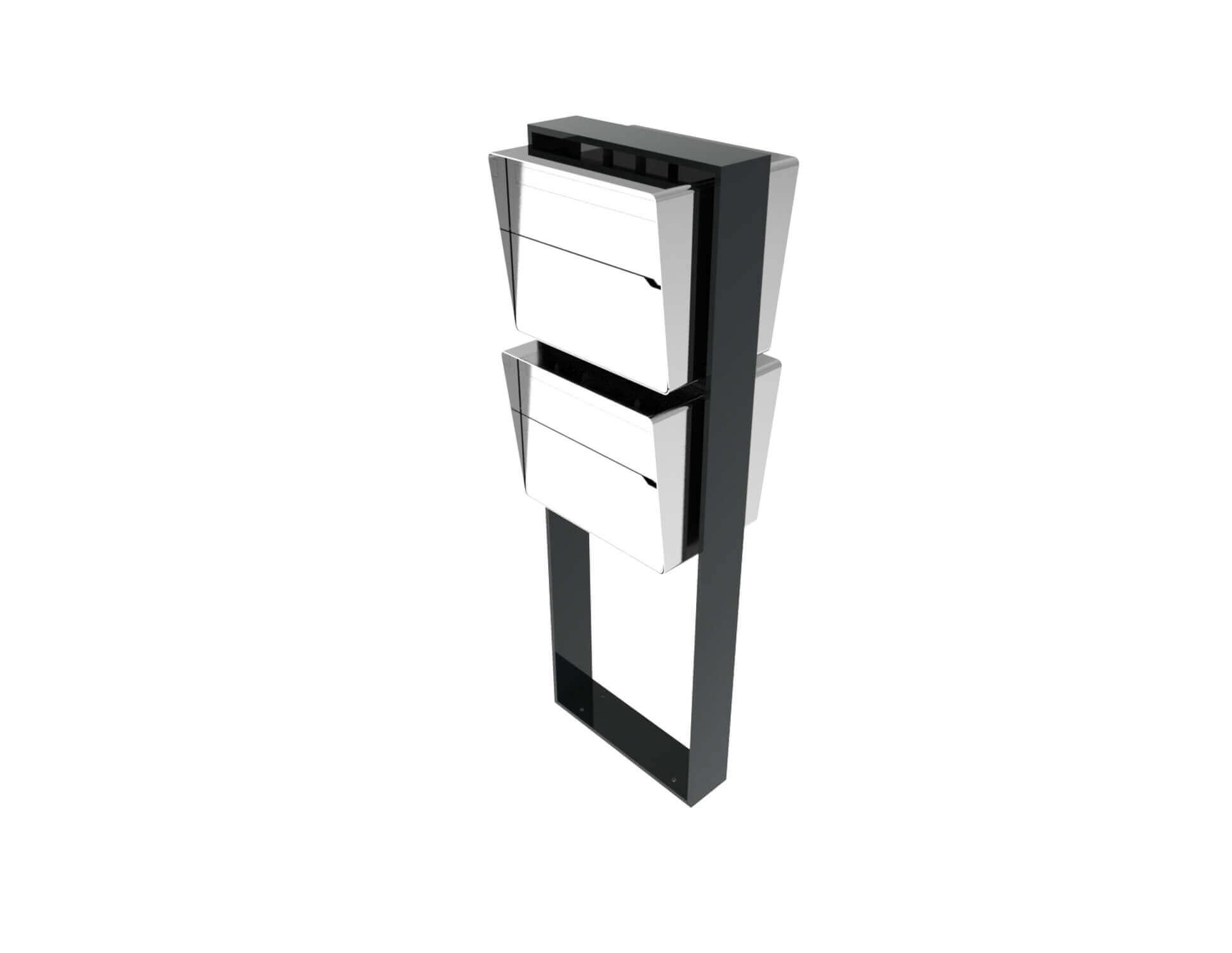 31 Designer Briefkastenanlage Bellus 2er Vertikal